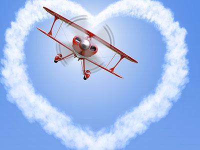 טיסות רומנטיות